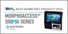 MorphoTrak's MorphoAccess SIGMA Series reader wins Best of Biometrics Award by SIA at ISC West 2014