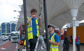 AES Corporation's IntelliVu BH4 transceivers deployed at London 2012 Olympics