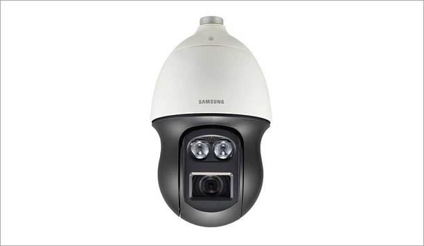 Hanwha Techwin launches new Samsung Wisenet P series PNP-9200RH 4K PTZ dome camera