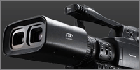 Panasonic demonstrated AG-3DA1 professional broadcast 3D camera at BETT 2011