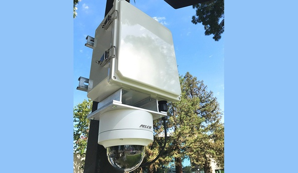 V5 Camera Adaptive Platform integrates with Pelco Sarix Professional IP cameras for portable, wireless, self-powered outdoor security