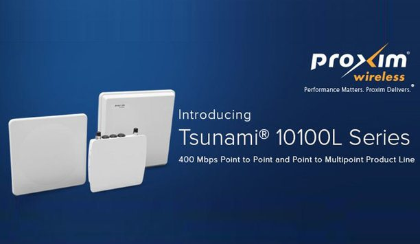 Proxim Announces Worldwide Availability Of Tsunami 10100L - Point To Point And Point To Multipoint Product Line