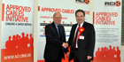 Wrexham MP, Ian Lucas, backs Approved Cables Initiative, championed by security cable manufacturer, Prysmian