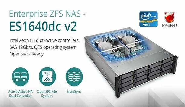 QNAP upgrades enterprise ZFS NAS ES1640dc v2 for mission-critical tasks