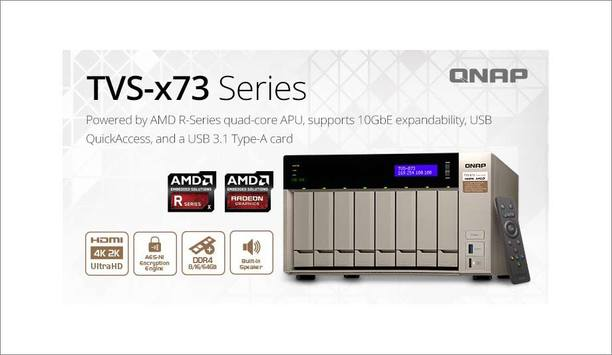 QNAP Systems partners with AMD to launch TVS-x73 NAS series