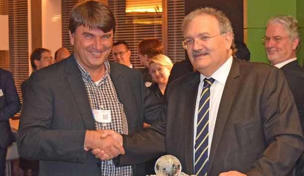 Ronny Bjones presented with EEMA Lifetime Achievement Award