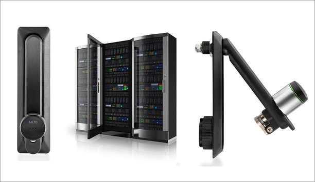 SALTO XS4 GEO server lock ensures security of business data