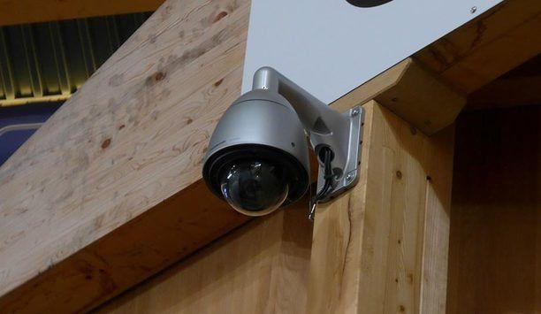 Panasonic WV-SFV781L 4K dome camera enhances security at ILFISHALLE stadium, Langnau