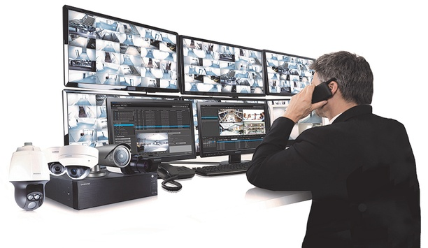 Hanwha Techwin Wisenet SSM VMS integrates with TDSi EXgarde PRO Access Management PC software