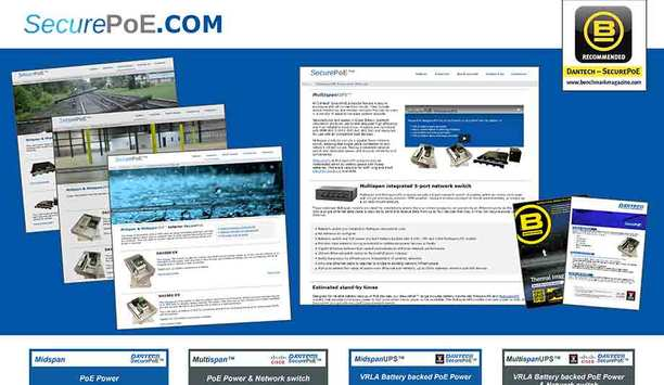 Dantech launches SecurePoE.com to help select correct power supply model for PoE systems