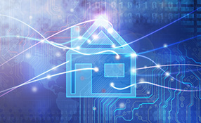 Providing technical support in the home systems environment