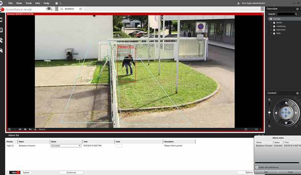 SeeTec Cayuga R9 supports server-based image analysis for protecting buildings and outdoor areas