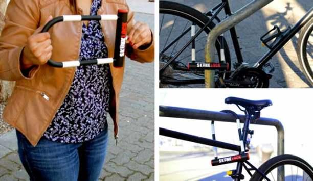 SkunkLock: Bicycle Lock Designed To Make Thieves Vomit