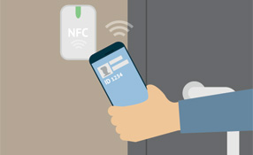 """Phoning In:"" Smart Phones Using NFC Can Replace Cards"