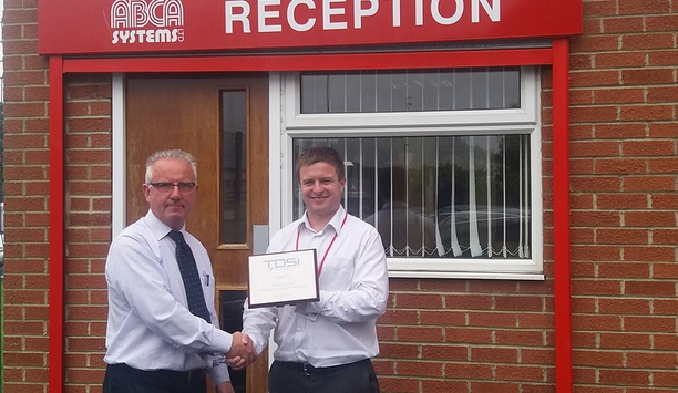 TDSi recognises ABCA with 'UK Partner of the Year – North' award