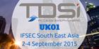TDSi EXgarde 4.4 security management software at IFSEC Southeast Asia 2015, Kuala Lumpur