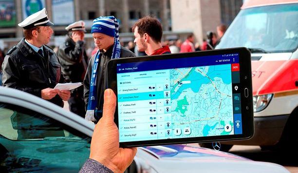 Airbus' latest Tactilon Agnet mission-critical group communication app for public safety agencies
