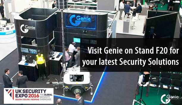 Genie to showcase latest security solutions at UK Security Expo 2016