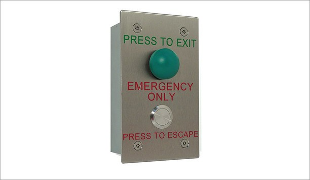 Urmet introduces stainless steel emergency Request to Exit switches, meeting Secured by Design guidelines