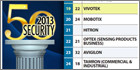 VIVOTEK secures 19th position in Security 50 2013 ranking