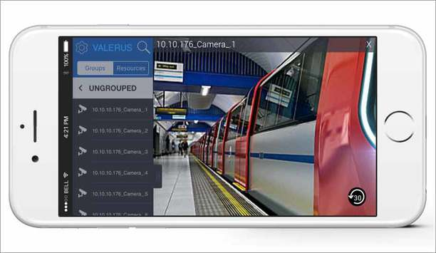 Vicon introduces Vicon Valerus Mobile app to access VMS system from iOS, Android phones and tablets