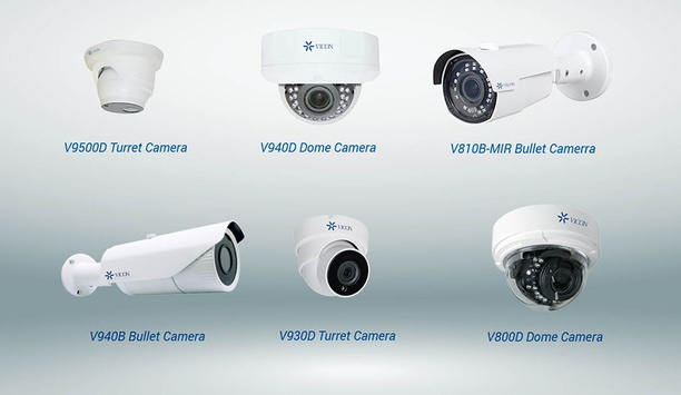 Vicon's New H.265 Megapixel IP Cameras To Be Available From September 2017