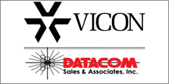 Datacom Announced As Vicon's Manufacturer Representative Firm For Texas, Oklahoma, Arkansas, And Louisiana