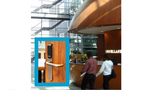 Aperio Wireless Access Control Solution Provides Integrated Security At Inholland University Of Applied Sciences