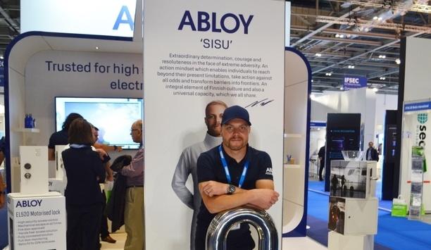 Abloy UK celebrated successful IFSEC 2019 with brand ambassador Valtteri Bottas