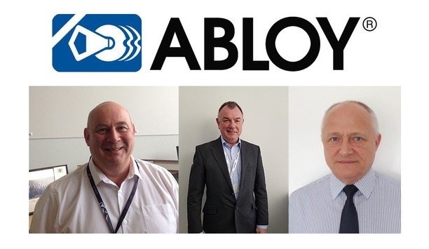 Abloy UK Hires Three New Recruits To Enhance Expertise And Expand Sales Team