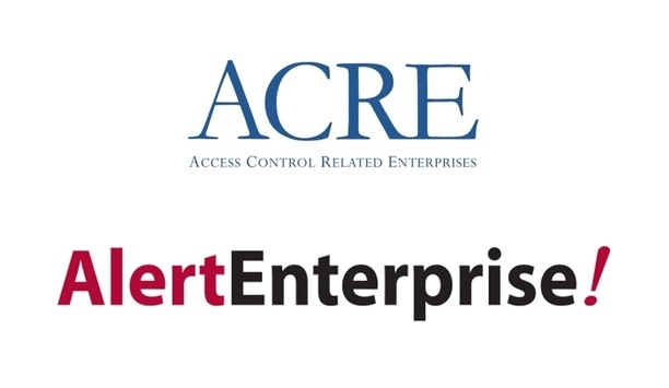 ACRE And AlertEnterprise Join Hands To Cement Global Leadership In Physical Identity And Access Control Solution