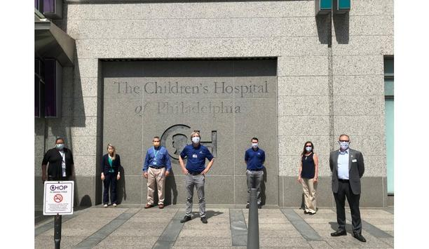 ADT Commercial thanks healthcare workers by delivering meals to five major hospitals