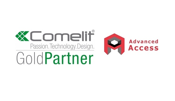 Advanced Access enjoys Gold Partner status with Comelit UK