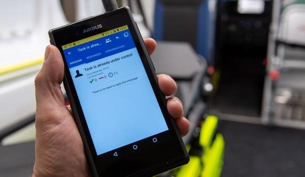 Nordic application developer companies exhibit solutions for Airbus's Tactilon Dabat device