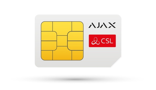 Ajax Systems partners with CSL to support their supply of roaming SIMs in the UK