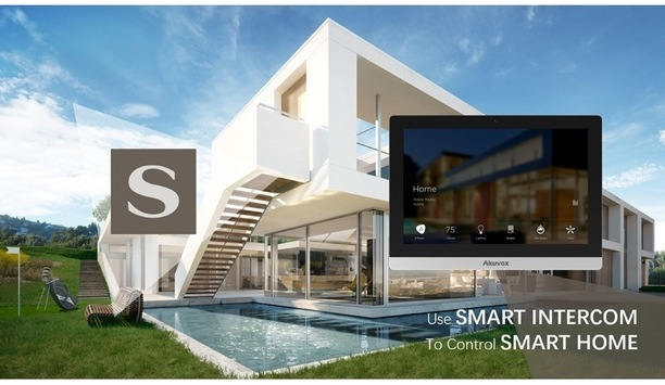 Akuvox Android indoor monitor series compatible with Savant smart home systems