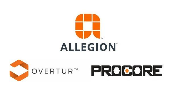 Allegion Announces Overtur Door Security Software Integration With Procore Construction Management Software