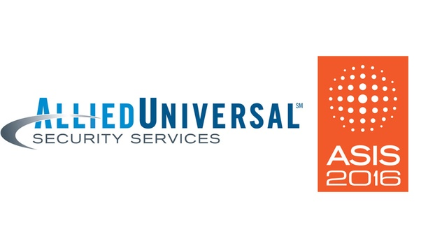 Allied Universal Provides Security Services At ASIS International 2016