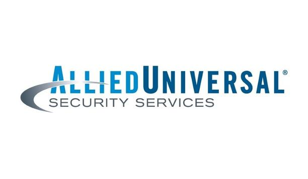 Allied Universal announces appreciation received to aid the apprehension of a fugitive
