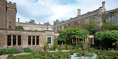 Alpro transom closers and hook locks installed at Sudeley Castle in Gloucestershire, UK