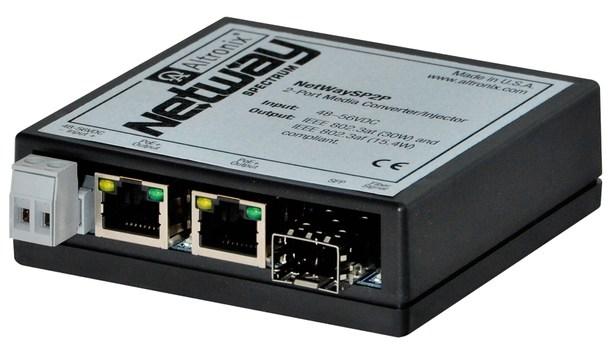 Altronix Unveils NetWaySP2P 2-Port Media Converter/Injector At ISC West 2018
