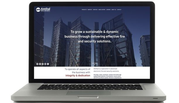 Fire safety and security solutions firm, Amthal launches interactive website with easy access