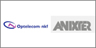 Optelecom-NKF's surveillance solutions to be distributed by Anixter International UK