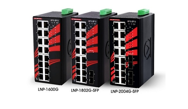 Antaira Launches New Gigabit Unmanaged PoE Switches For Harsh Environment Applications
