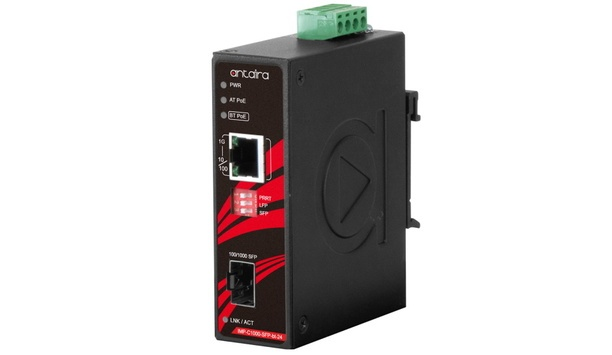 Antaira Technologies expands industrial networking infrastructure family with the IMP-C1000-SFP-bt series