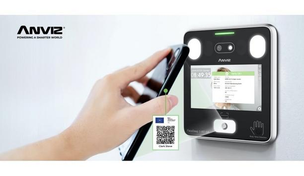 Anviz brings the FaceDeep 3 QR Version to fulfil the requirement of COVID-19 green pass