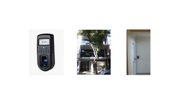 Anviz Global Secures Rosario Argentina CBD With Fingerprint+Card+PW Access Control VF30
