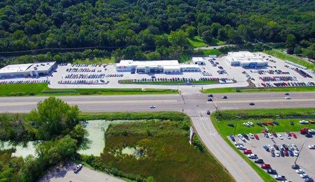 AV Costar provides outdoor surveillance system for Dahl automotive campus