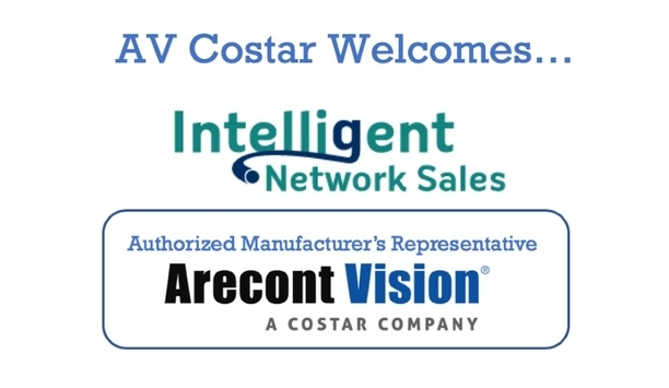 Arecont Vision Costar announces Intelligent Network Sales as the latest addition to Authorised Manufacturer's Representative Program