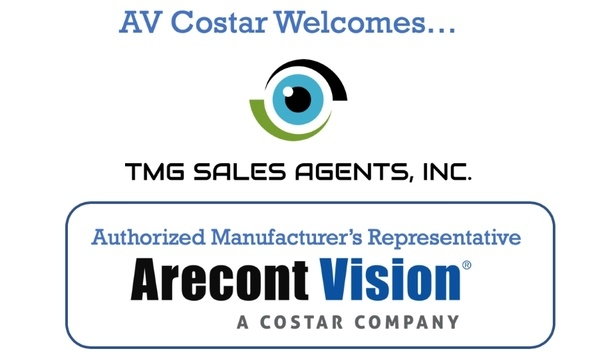 Arecont Vision Costar Announces TMG Sales Agents As New Authorized Manufacturer's Representative